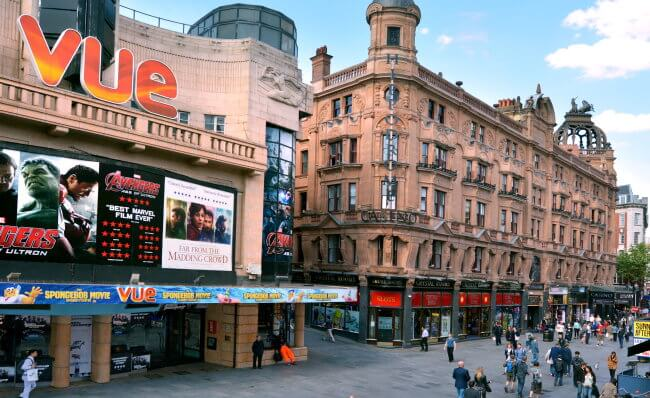 Vue Cinema in Leicester Square lucidwaters