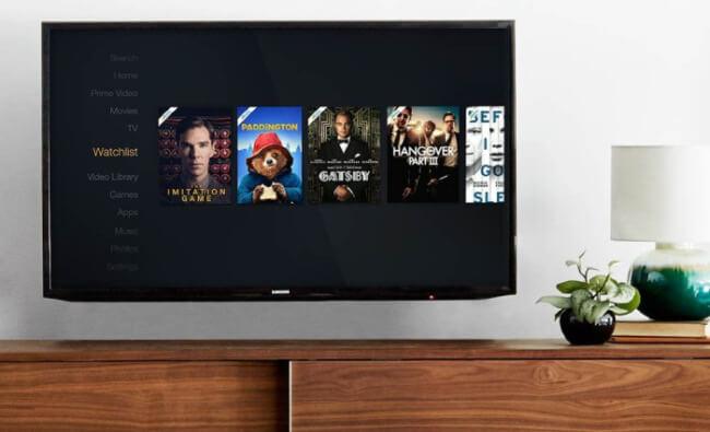 Amazon on TV