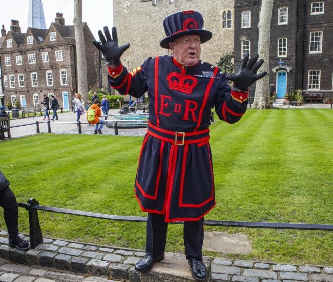 Yeoman at tower of London
