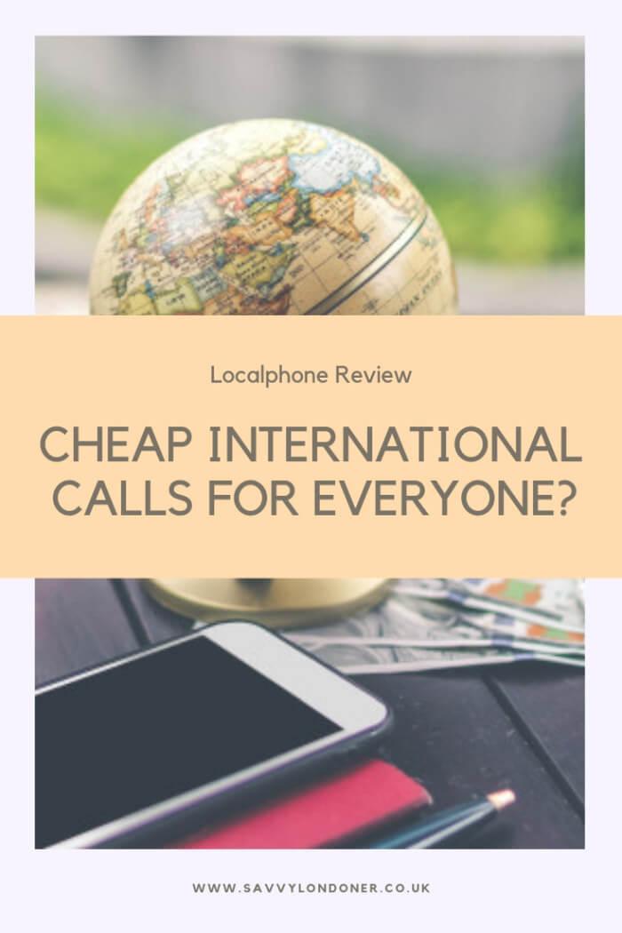 localphone review international calls for cheap
