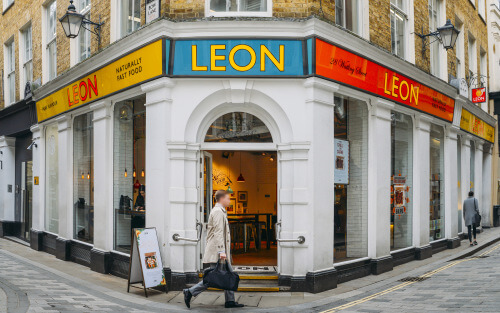 Leon restaurant london