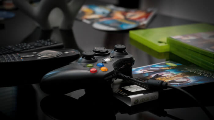 Xbox Controller and games unsplash