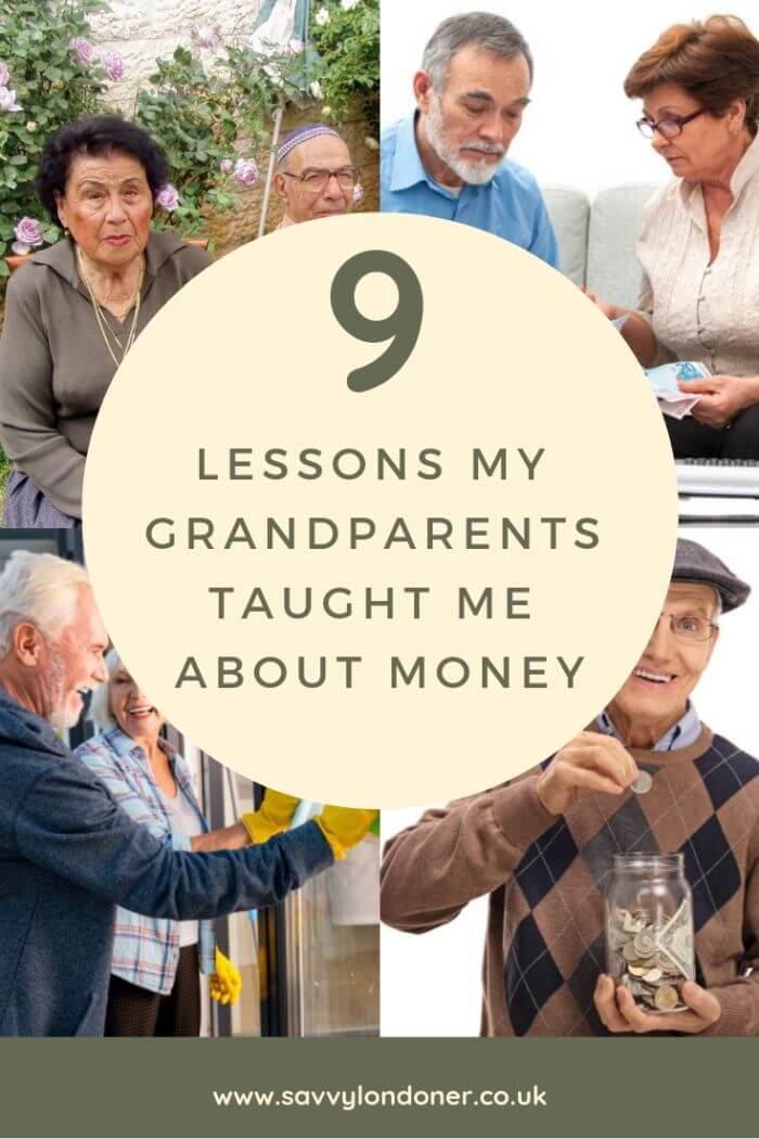 9 lessons from my grandparents about money
