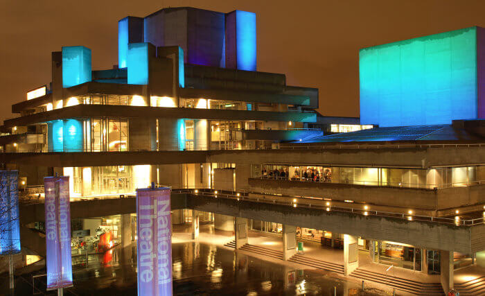 The National Theatre in London