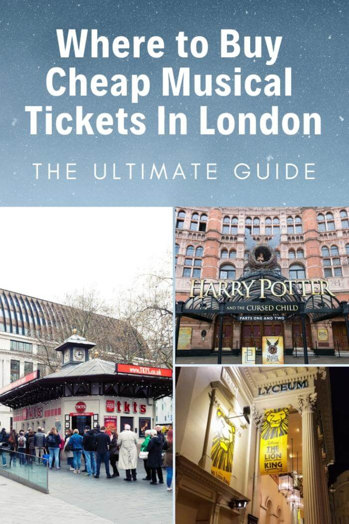 Where to buy cheap theatre tickets london